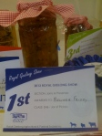1st Prize & Best Exhibit Jams & Preserves: Zucchini Mustard Pickles